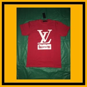 Red Shirt with White Logo